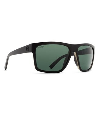 Vonzipper Dipstick Black Gloss with Wild Vintage Grey Polar Lens Sunglasses