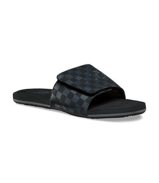 Vans Nexpa Black Asphalt Checkerboard Slide