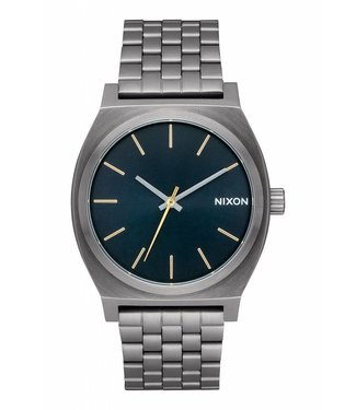Nixon Time Teller Gunmetal and Indigo Watch