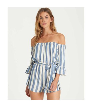 Billabong Fun For Now Striped Romper