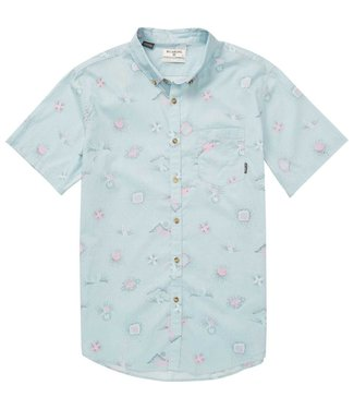 Billabong Sundays Mini Seafoam Woven Shirt