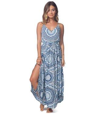 Rip Curl La Playa Mid Blue Maxi Dress