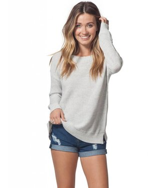 Rip Curl Wanderer Light Grey Heather Crew