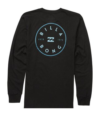 Billabong Rotor Black Long Sleeve Tee