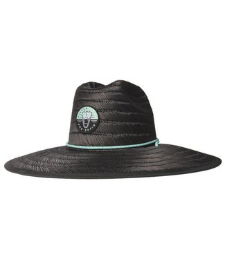 VISSLA DaFin Black Lifeguard Hat