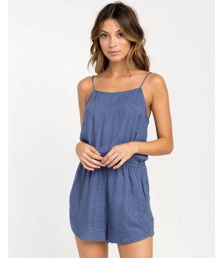 RVCA Lily Navy Romper