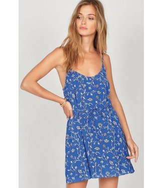 Amuse Society Coastal Castaway Blue Coast Dress