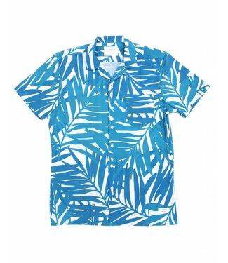 Duvin Design Co. Leaves Teal Buttondown Shirt