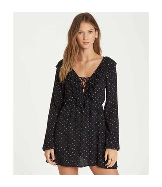 Billabong Take Away Black Dress