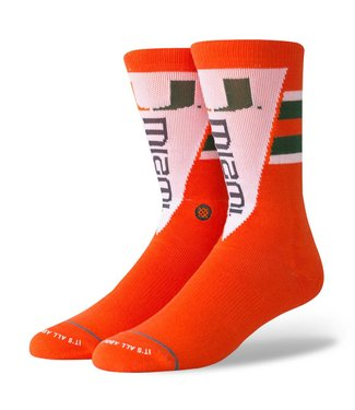 Stance Miami Pennant Orange Socks