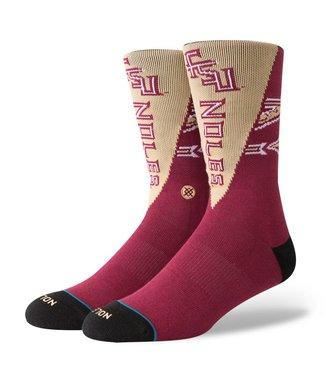 Stance FSU Pennant Garnet Socks