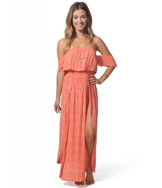 Rip Curl Saltwater Coral Maxi Dress