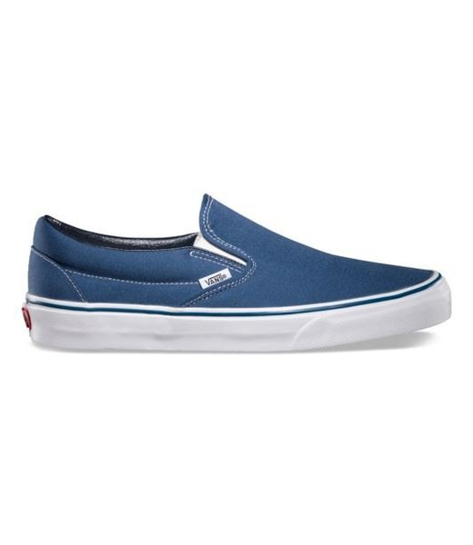 Classic Slip-On Navy Shoes