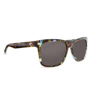 Costa Del Mar Aransas Shiny Ocean Tort 580G Grey Lens Sunglasses