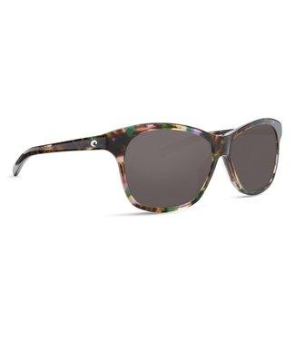 Costa Del Mar Sarasota Shiny Abalone 580G Grey Lens Sunglasses