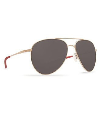 Costa Del Mar Cook Rose Gold 580P Grey Lens Sunglasses