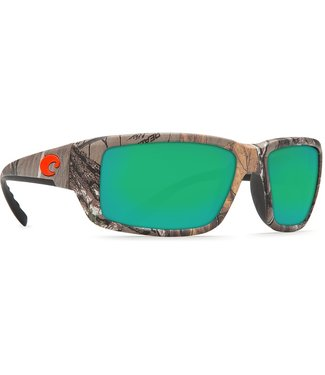 Costa Del Mar Fantail Realtree Xtra Camo Green Mirror 580G Lens Sunglasses