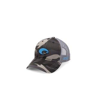 Costa Del Mar Costa Del Mar XL Logo Camo Trucker Snapback Hat 8c98dbfbabb6