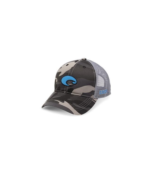 Costa Del Mar Costa Del Mar XL Logo Camo Trucker Snapback Hat