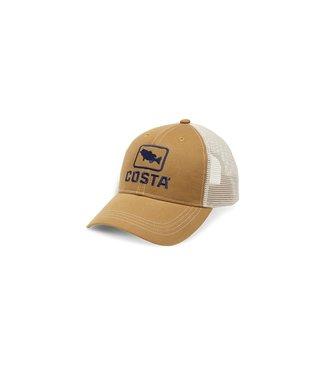 Costa Del Mar Bass Trucker XL Snapback Hat