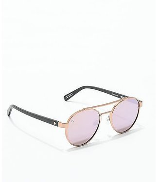 Spy Optics Deco Bronze Matte Rose Gold Sunglasses