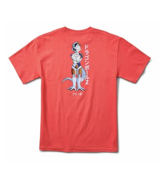Primitive x DBZ Frieza Mecha Coral Tee