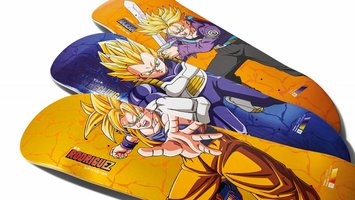 Primitive Skateboards x Dragon Ball Z Drop 2!!