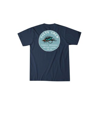Salty Crew Henshall Navy Short Sleeve Tee