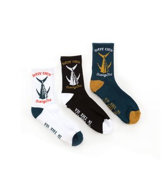 Salty Crew Chasing Tail Sock Box 3 Pack