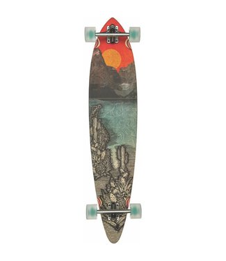 "Globe Climate Change 44"" Pintail Bamboo Longboard"