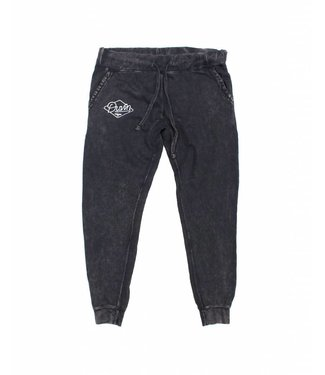 Duvin Design Co. Acid Wash Black Jogger Pants