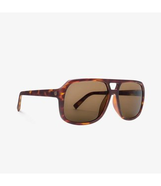 Electric Dude Matte Tort Bronze Lens Sunglasses
