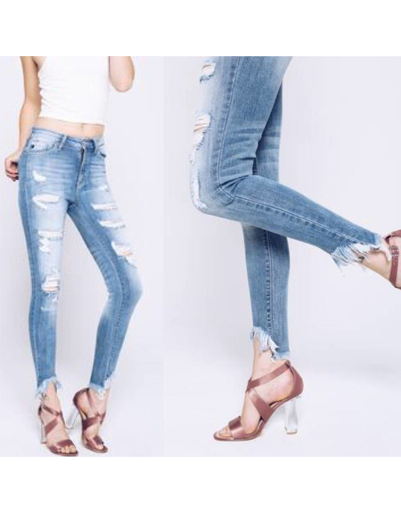 Distressed Jeans