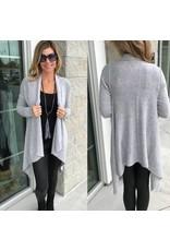 Long Cardigan - Grey