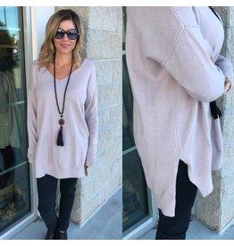 Sweater Tunic - Twig