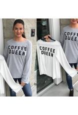 Coffee Queen Top