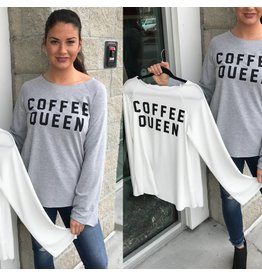 Coffee Queen Top