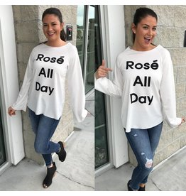 Rose All Day Top - Off White