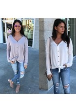 Thermal Button Down Tunic