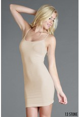 SEAMLESS CAMISOLE DRESS SLIP