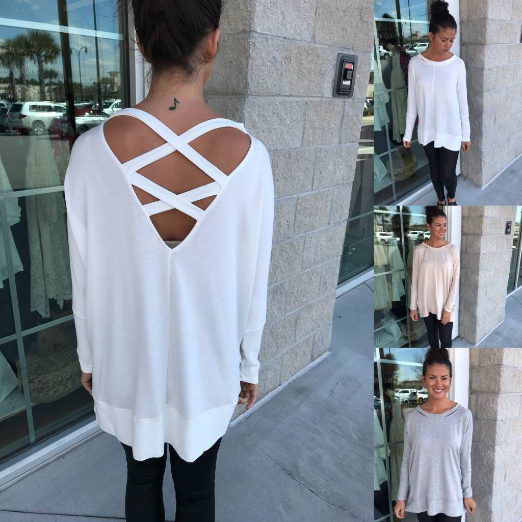 Strappy Back Tunic