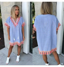 Striped Boho Tunic