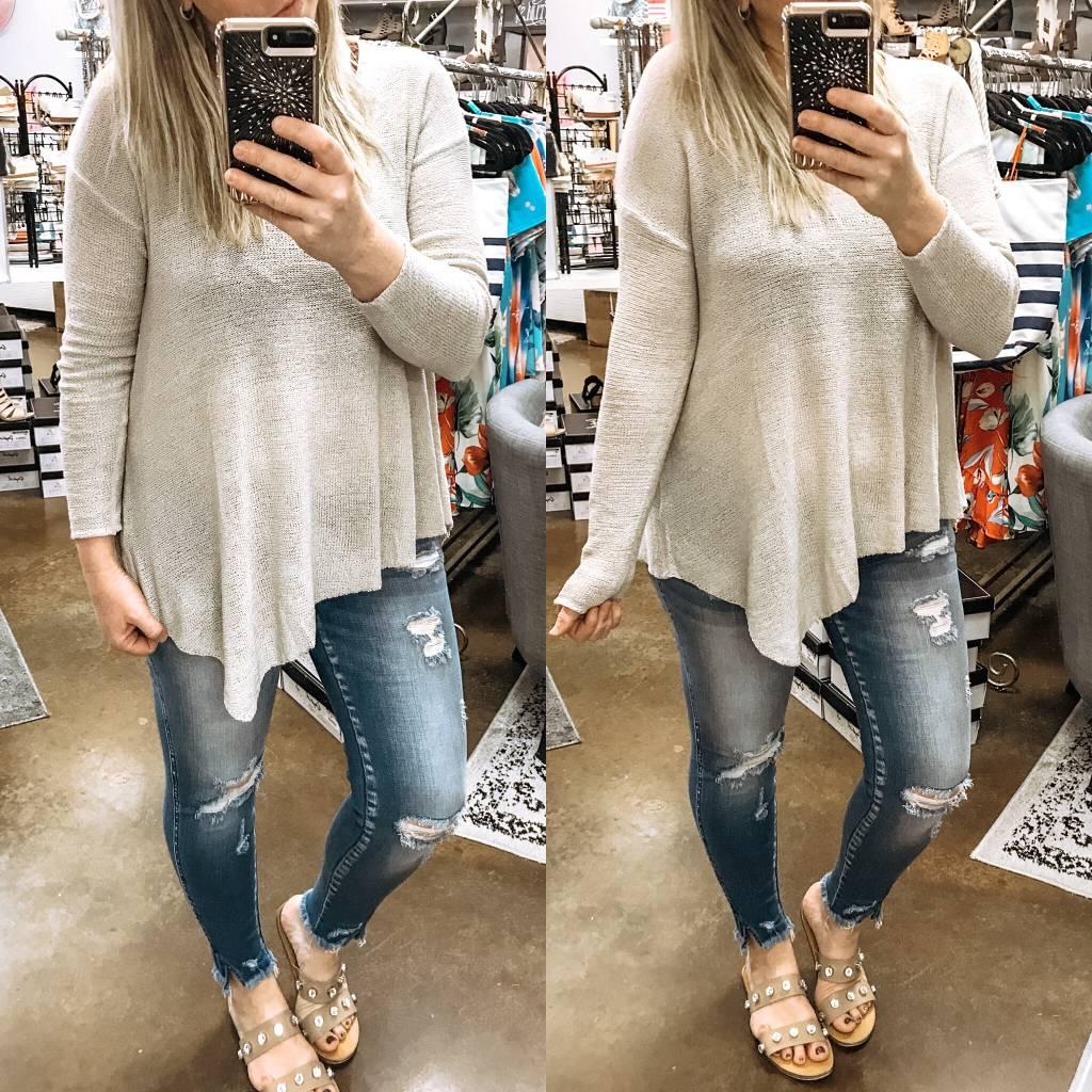 Assymetrical Sweater