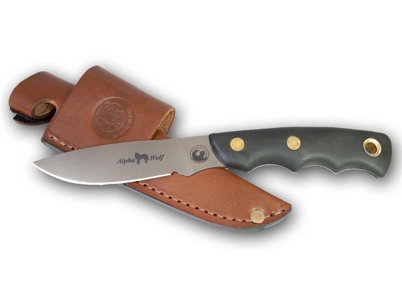 Knives Of Alaska Alpha Wolf S30 V Suregrip