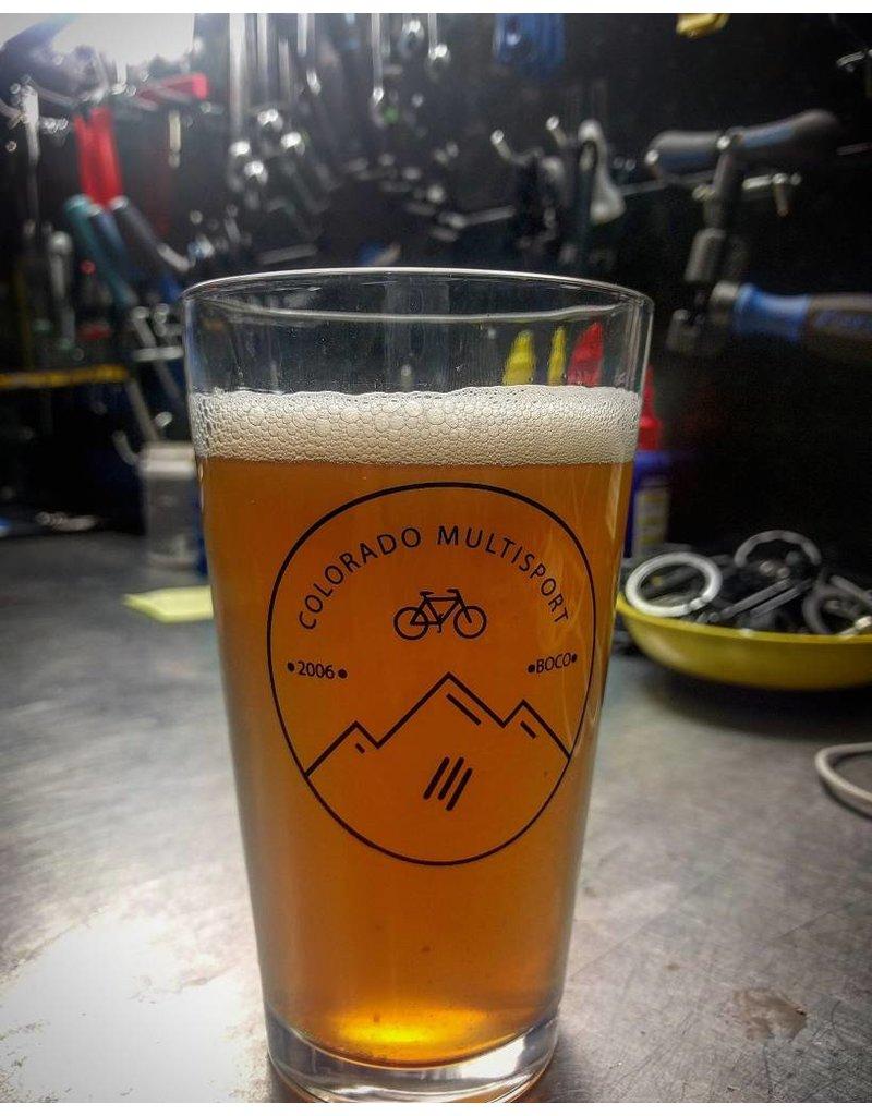 CMS CMS Pint Glass: Circle