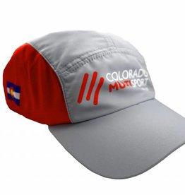 BoCo Gear CMS BOCO Run Hat: Grey/Red