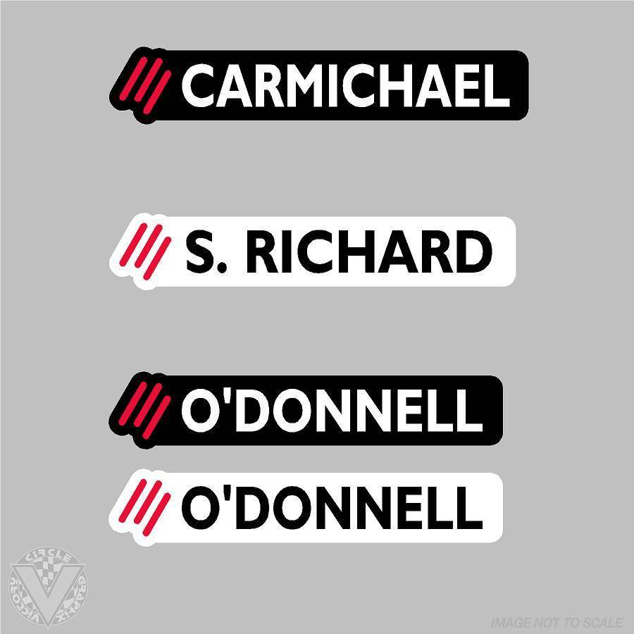 CMS CMS Name Stickers: 10 Pack