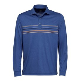 Greg Norman Greg Norman Engineered Stripe Polo, Size S