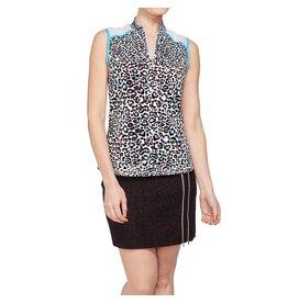 GG Blue GG Blue Serena Top Cheetah