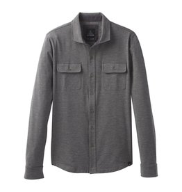 prAna prAna Pacer Button Down Charcoal